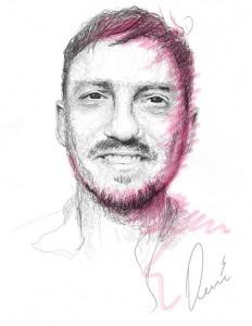 portrett kim rene teige